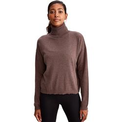 Lole Cozy Turtle Neck - Womens-Deep Crater Heather