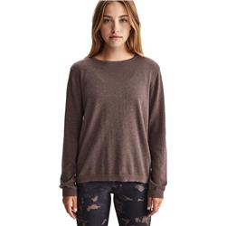 Lole Cozy Crew Neck - Womens-Deep Crater Heather