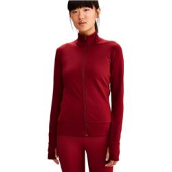 Lole Essential Up Cardigan - Womens-Budapest Red