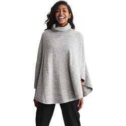 Lole Inverness Poncho - Womens-Medium Grey Heather