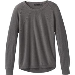 Prana Avita Sweater - Womens-Coal Heather