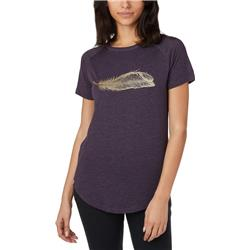 Feather Wave SS Tee - Womens