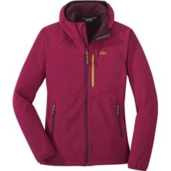 Outdoor Research Ferrosi Grid Hooded Jacket - Womens-Beet