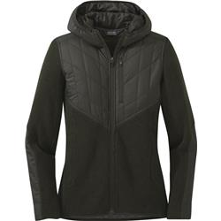 Outdoor Research Cyprus Full Zip Hoody - Womens-Forest Heather