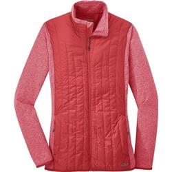 Outdoor Research Melody Hybrid Jacket - Womens-Teaberry