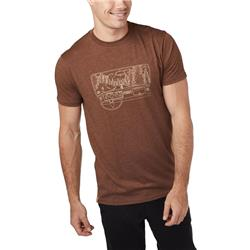 tentree Nomad SS Tee - Mens-Pinecone Brown Heather