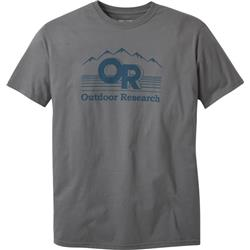 Outdoor Research Advocate SS Tee - Mens-Charcoal