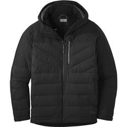 Outdoor Research Blacktail Down Jacket - Mens-Black