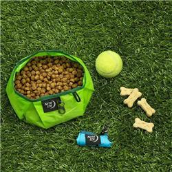 Nite-Ize RadDog Collapsible Bowl -Lime