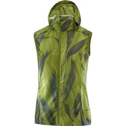 Salomon Agile Wind Vest - Womens-Avocado