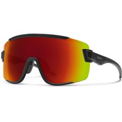 Smith Optics Wildcat, Matte Black Frame, Chromapop Red Mirror Lens / Carbonic Clear Extra Lens-Not Applicable