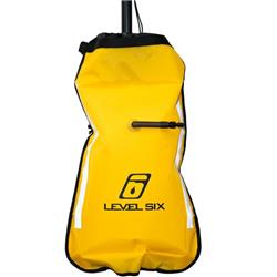 Level 6 Inflatable Paddle Float-Yellow