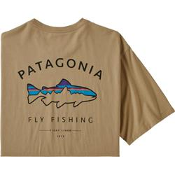 Framed Fitz Roy Trout Organic T-Shirt - Mens