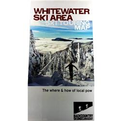 Whitewater Backcountry Ski Map
