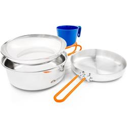 Glacier Stainless 1 Person Mess Kit