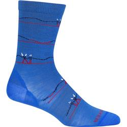 LifeStyle Crew Merino Socks - Ultralight Cushion - Backcountry Ski - Womens
