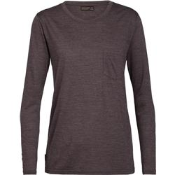 Nature Dye Drayden Merino LS Pocket Crewe - Womens